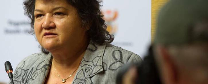 FILE: Public Enterprises Minister Lynne Brown. Picture: GCIS.