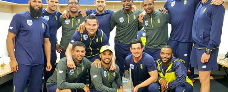 Rain washed out the final day of the third Test between South Africa and New Zealand, helping Proteas seal a 1-0 series victory. Picture: Twitter/@OfficialCSA.