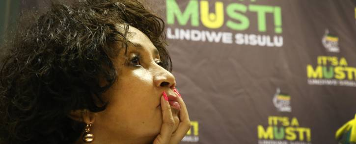Lindiwe Sisulu, who's an ANC presidential candidate, was open about her decision to accept the nomination. Picture: Bertram Malgas/EWN
