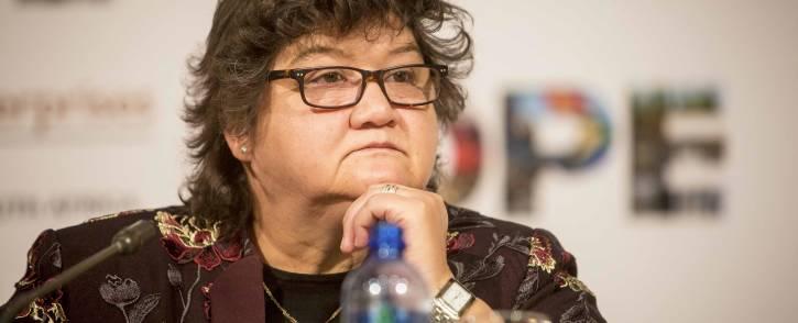 FILE: Minister of Public Enterprises Lynne Brown. Picture: Thomas Holder/EWN