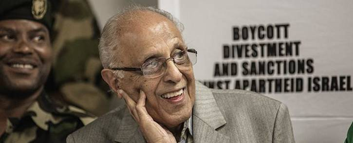 FILE: Ahmed Kathrada Picture: AFP.
