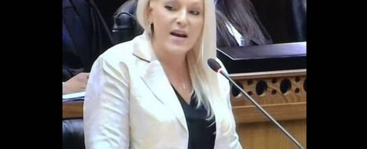 FILE: DA shadow minister of public enterprises Natasha Mazzone. Picture:  @Natasha9Mazzone /Twitter
