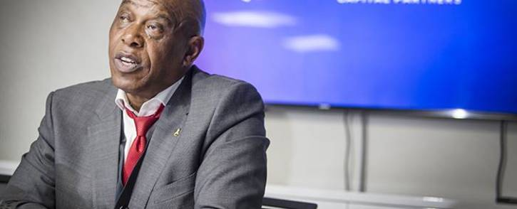 FILE: Non-executive Chairman of Trillian Capital Partners, Tokyo Sexwale addressed the media at the company's offices in Johannesburg on 25 May 2017. Picture: Reinart Toerien/EWN