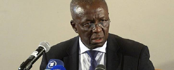 Former deputy Chief Justice Dikgang Moseneke. Picture: AFP
