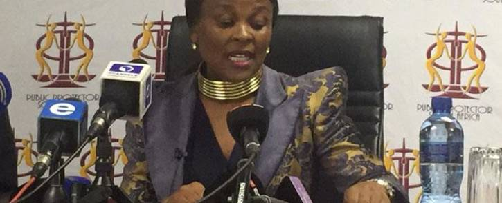 Advocate Busisiwe Mkhwebane. Picture: EWN.