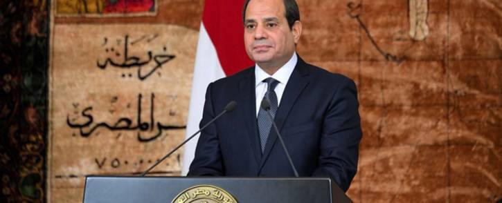 President Abdel Fattah al-Sisi. Picture: @AlsisiOfficial/Twitter.
