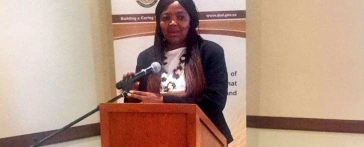FILE: Interim Sassa chief executive Pearl Bengu. Picture: @OfficialSASSA/Twitter