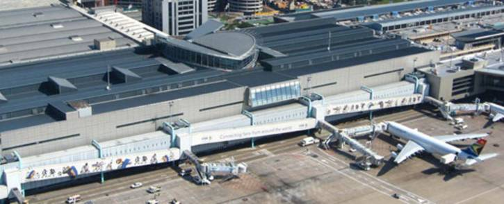 An aerial view of OR Tambo International Airport. Picture: Supplied.
