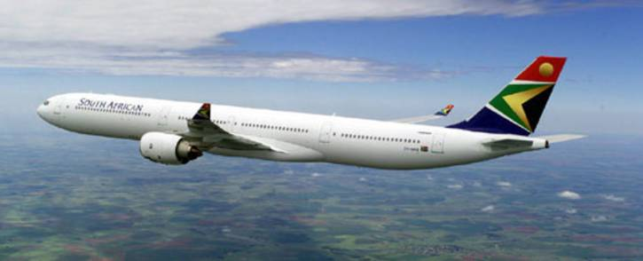 South African Airways plane. Picture: AFP.