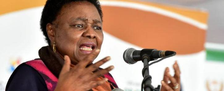 Higher Education Minister Hlengiwe Mkhize. Picture: GCIS