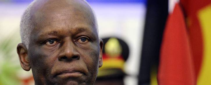FILE: Former Angolan president Eduardo dos Santos. Picture: AFP.