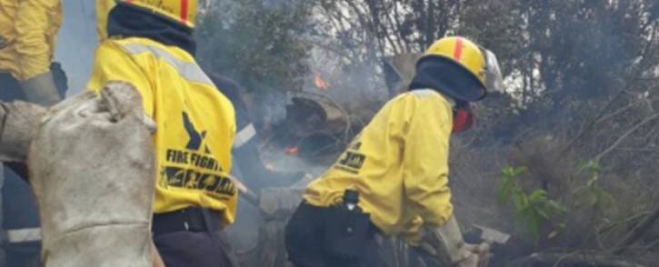 FILE: A Working on Fire team hard at work. Picture: @wo_fire/Twitter
