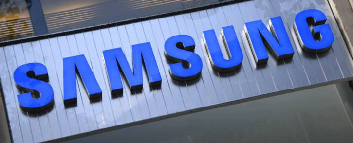 A file photo taken on 11 October 2016 shows the Samsung store in Paris. Picture: AFP.