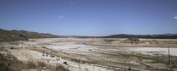 FILE: The Department of Water and Sanitation conducted a site visit at the Theewaterskloof dam on 22 February 2018. Picture: Cindy Archillies/EWN.