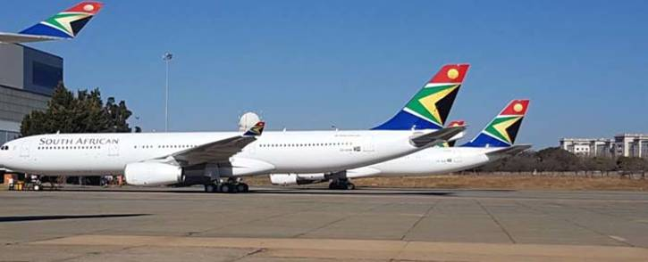FILE: SAA's R2.2 billion bailout could be funded by the sale of assets, according to the government. Picture: Facebook.com.