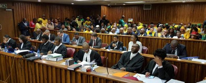 Johannesburg Mayor Herman Mashaba's legal team ahead of proceedings at the South Gauteng Court on 26 September 2017. Picture: Louise McAuliffe/EWN