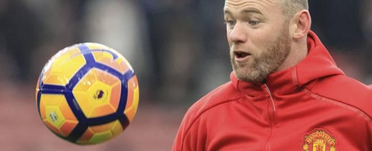 FILE: Manchester United's English striker Wayne Rooney. Picture: AFP