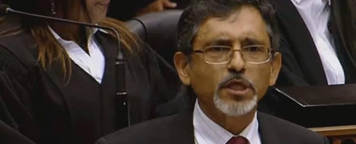 FILE: A screengrab shows Economic Development Minister Ebrahim Patel.