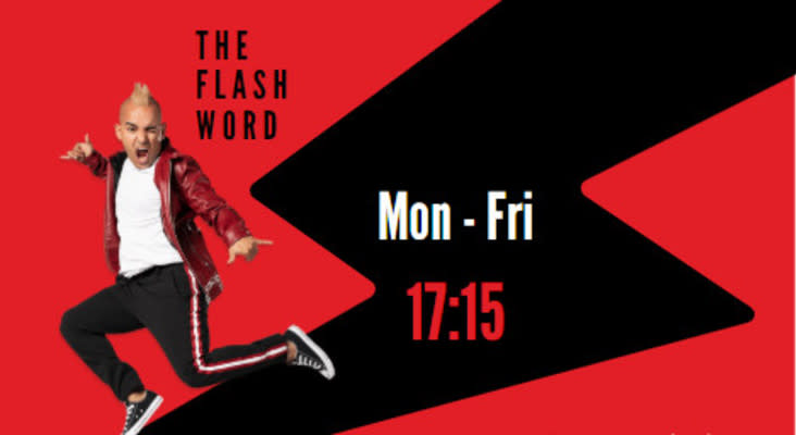 [LISTEN] The Flash Word: The Flash Word gets a very special guest