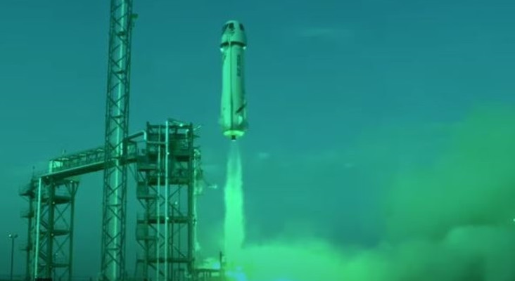 [VIDEOS] Jeff Bezos blasts off to become the latest space billionaire