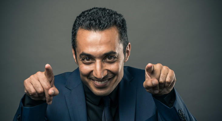 Comedian Riaad Moosa encouraging South Africans to get their COVID vaccination