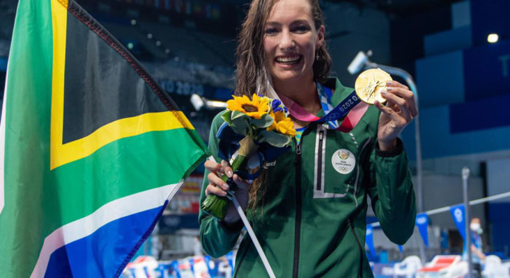 SA's Schoenmaker smashes 200m breaststroke world record and claims Olympic gold