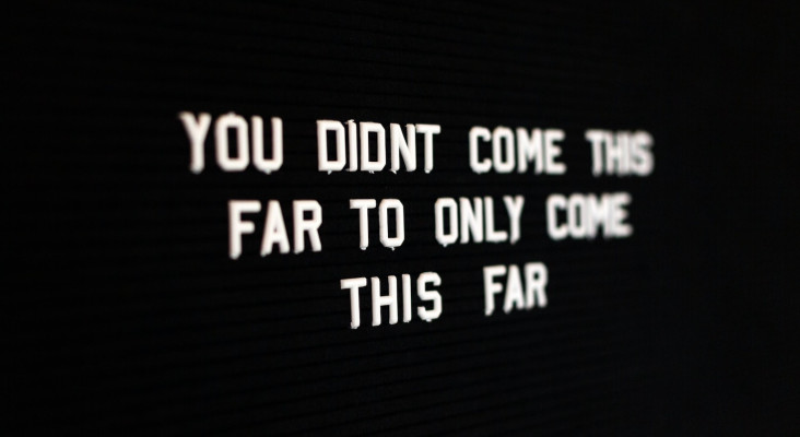 Monday Motivation: Failure is legendary. It means you're willing to try