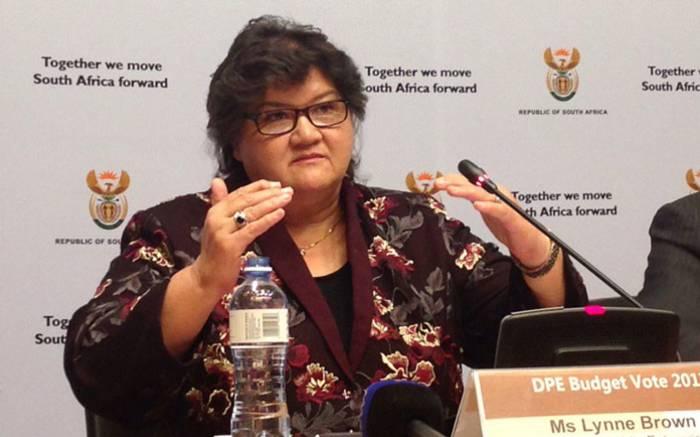 Public Enterprises Minister Lynne Brown. Picture: Gaye Davis/EWN