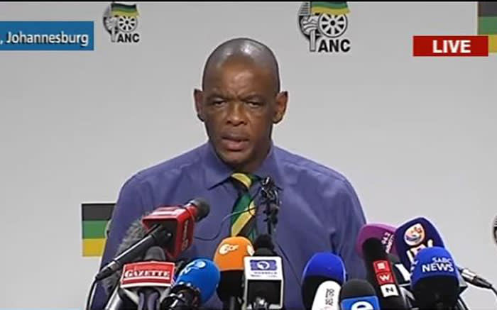 ANC announces new leadership within party committes