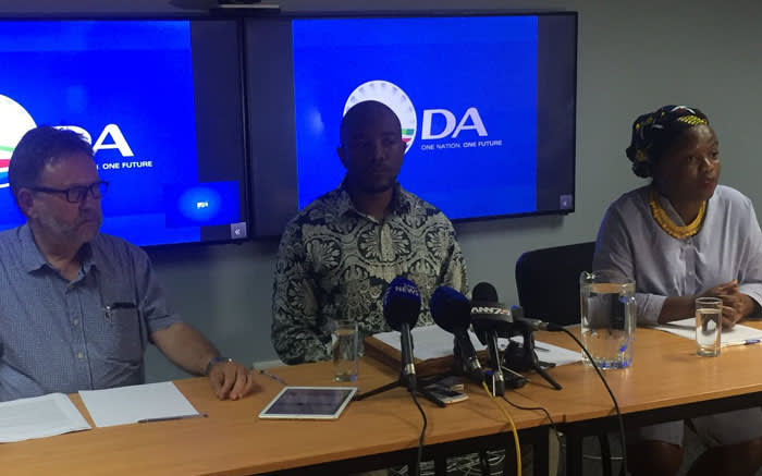 [WATCH LIVE] DA briefs media on outcomes of federal meeting on de Lille