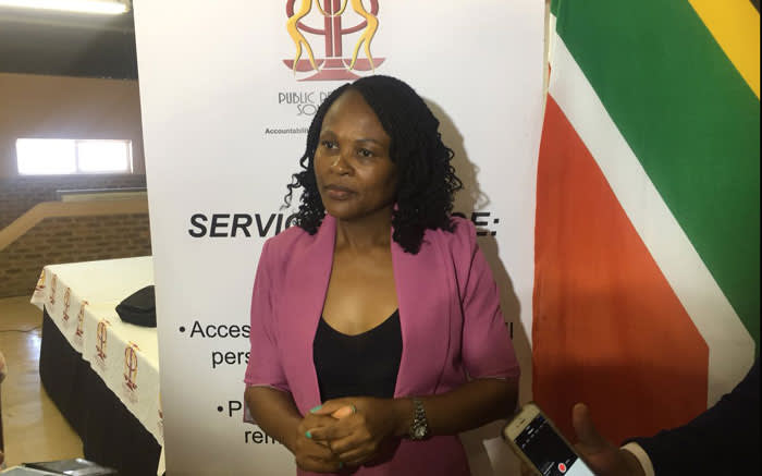 FILE: Public Protector Busisiwe Mkhwebane. Picture: Xolani Koyana/EWN.
