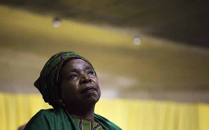 African National Congress presidential nominee Nkosazana Dlamini Zuma on 5 December 2017. Picture: Sthembiso Zulu/EWN