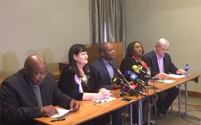 DA-led coalitions not falling apart - Maimane