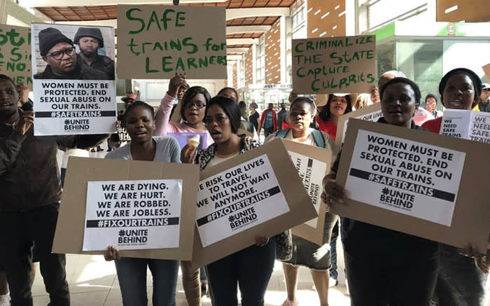 CT commuters demand safety on trains