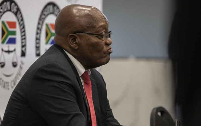Zuma questions the way state capture commission was established