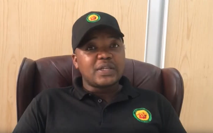 Thanduxolo Sabelo says he's available for ANCYL's presidency nomination