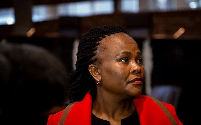 Mkhwebane says she's been inundated by reports of service failures during COVID