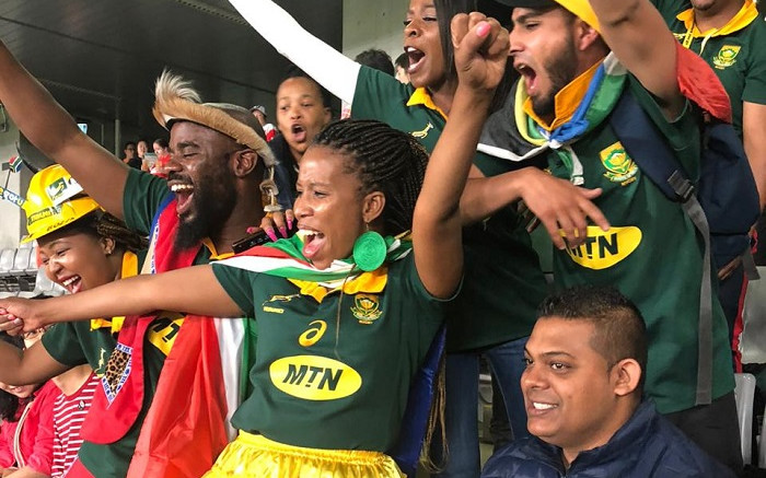GALLERY: SA supports the Bokke in Japan