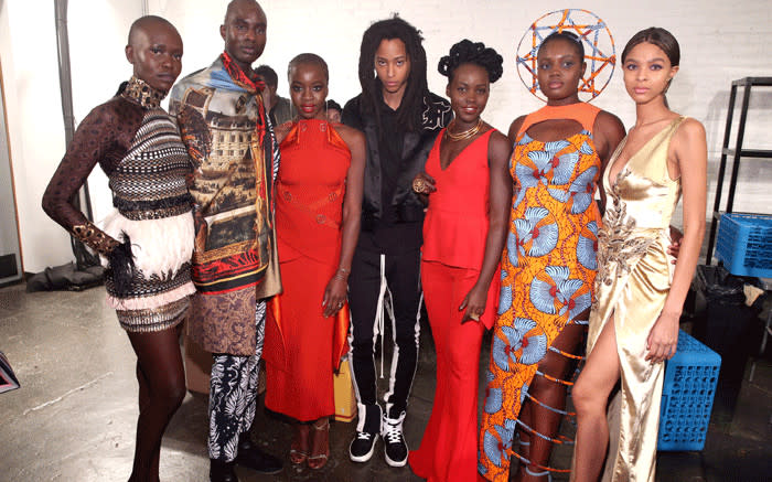 Justice For Thoriso: #BlackPanther Fashion Takes Centre Stage At NY Fashion Week