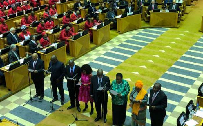 WATCH LIVE: New MPs swear to be faithful to SA, uphold Constitution