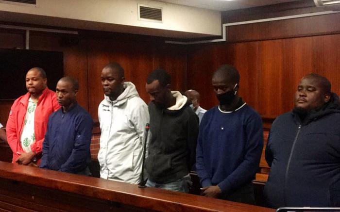 Bail hearing of 6 men accused of murdering Andile Mbuthu postponed
