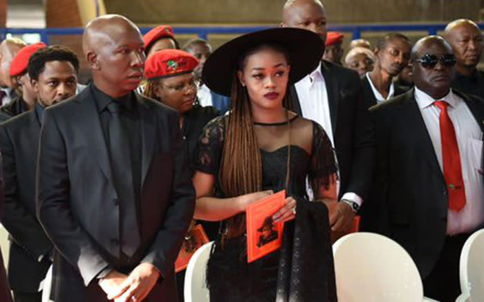 'I will never go back to the ANC,' Malema says at grandmother's funeral