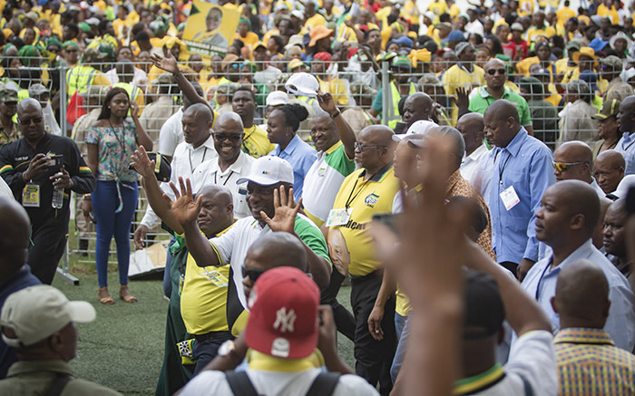 Ramaphosa appeals to citizens to give ANC another chance to govern