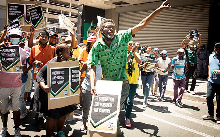 FS ANC members want action against those implicated in Estina, asbestos projects