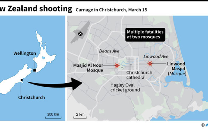 Nz Shooter Detail: Christchurch Mosque Shootings Mapped