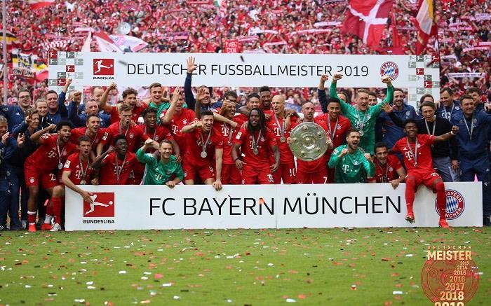 Bayern MГјnchen Meister 2021