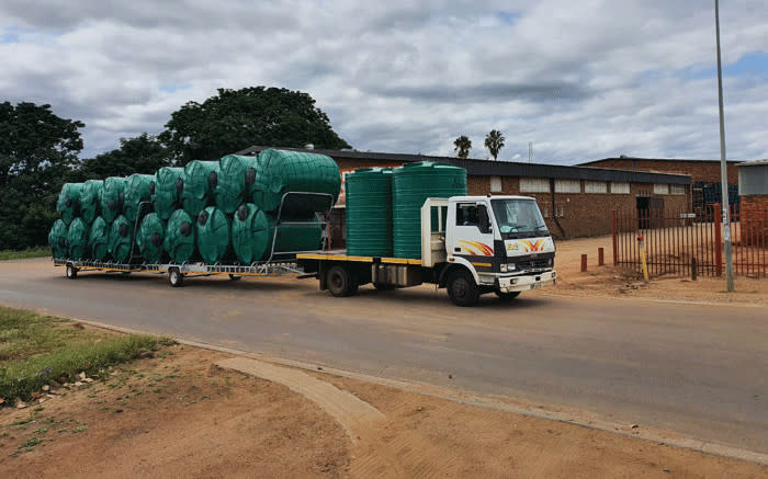 Over 100,000 litres of water delivered to drought-stricken NC daily