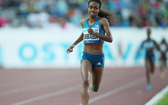 World 1,500m record holder Dibaba out of worlds with injury