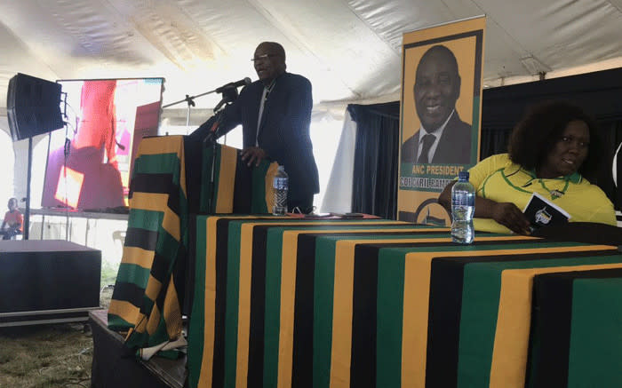 Zuma tells supporters to vote for ANC next year