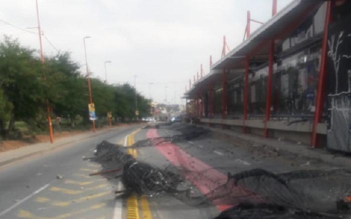City of Joburg condemns vandalism of Rea Vaya station